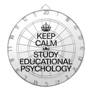 GUARDE LA CALMA Y ESTUDIE LA PSICOLOGÍA EDUCATIVA