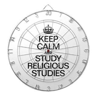 GUARDE LA CALMA Y ESTUDIE LOS ESTUDIOS RELIGIOSOS