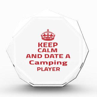 Guarde la calma y feche a un jugador que acampa