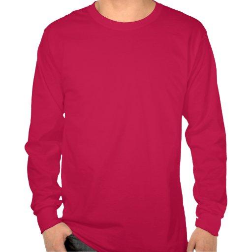 Guarde la calma y feliz encendido t shirt