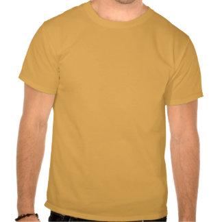 Guarde la calma y fije su pesca de gancho camiseta