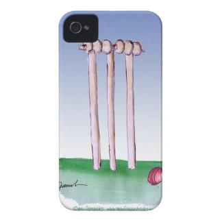 guarde la calma y golpee éstos, fernandes tony funda para iPhone 4 de Case-Mate