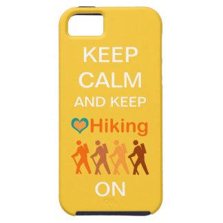 Guarde la calma y guarde el caminar en /Group de c iPhone 5 Protector