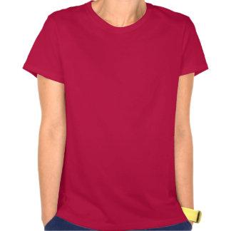 Guarde la calma y haga compras encendido camisetas