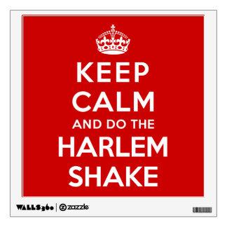 Guarde la calma y haga la sacudida de Harlem
