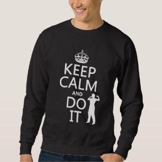Guarde la calma y hágala (cualquier color de suéter