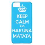 Guarde la calma y la caja del teléfono de Hakuna M