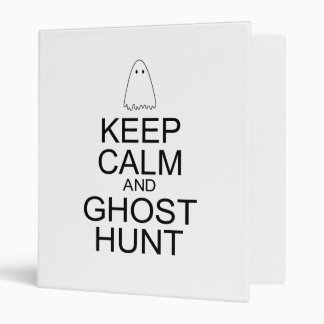 "Guarde la calma y la caza del fantasma (la carpeta 1"""