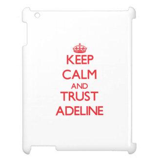 Guarde la calma y la CONFIANZA Adelina