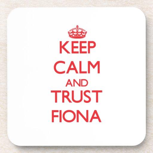 Guarde la calma y la CONFIANZA Fiona Posavaso