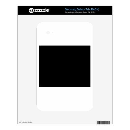 Guarde la calma y la CONFIANZA Zion Samsung Galaxy Tab Calcomanía