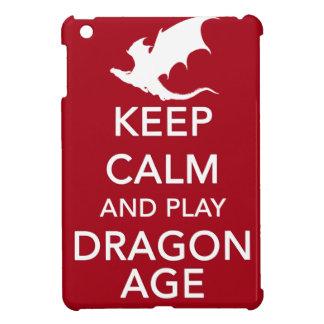 Guarde la calma y la edad del dragón del juego