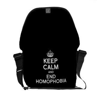 GUARDE LA CALMA Y LA HOMOFOBIA DEL FINAL BOLSAS MESSENGER