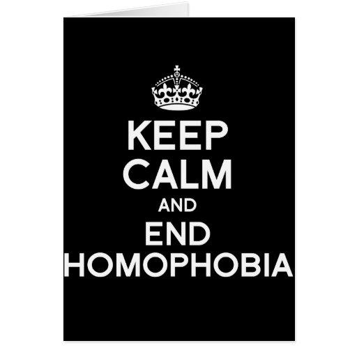 GUARDE LA CALMA Y LA HOMOFOBIA DEL FINAL FELICITACIONES