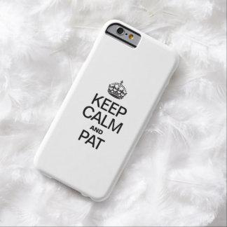 GUARDE LA CALMA Y LA PALMADITA FUNDA PARA iPhone 6 BARELY THERE