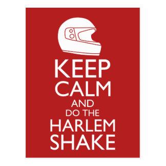 Guarde la calma y la sacudida de Harlem (escoja su Postales