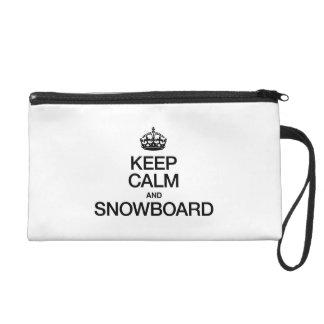 GUARDE LA CALMA Y LA SNOWBOARD