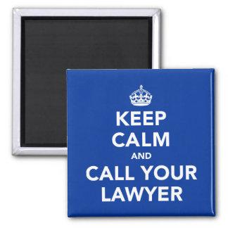 Guarde la calma y llame a su abogado imanes para frigoríficos