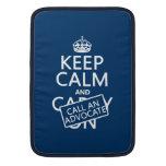 Guarde la calma y llame a un abogado (en cualquier funda  MacBook