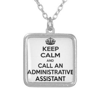 Guarde la calma y llame a un ayudante administrati pendiente