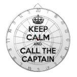 Guarde la calma y llame al capitán tablero de dardos