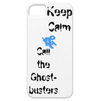 Guarde la calma y llame el caso del iphone de iPhone 5 Case-Mate cárcasa