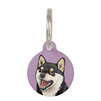 Guarde la calma y llame mi placa de identificación placa para mascotas