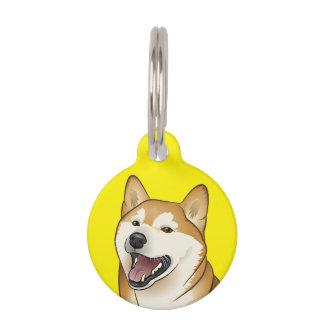 Guarde la calma y llame mi placa de identificación placas de mascota