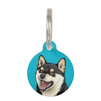 Guarde la calma y llame mi placa de identificación placas para mascotas