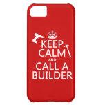 Guarde la calma y llame un constructor (cualquier