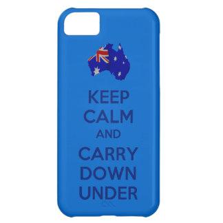 Guarde la calma y lleve abajo debajo del iPhone 5