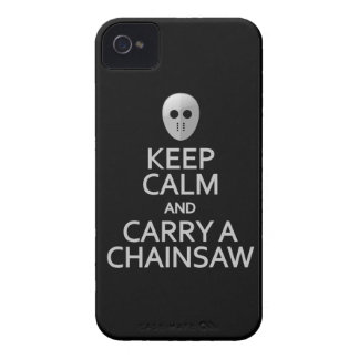Guarde la calma y lleve una caja intrépida de iPhone 4 Case-Mate carcasa