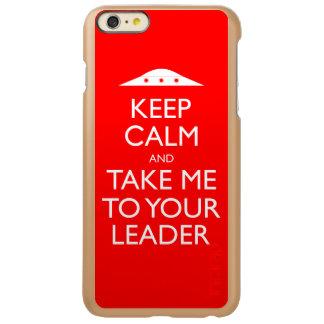 Guarde la calma y lléveme a su líder