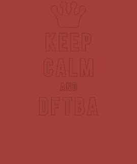 Guarde la calma y los hilos frescos de DFTBA el | Camisetas