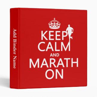 """Guarde la calma y Marath encendido Carpeta 1"""""""