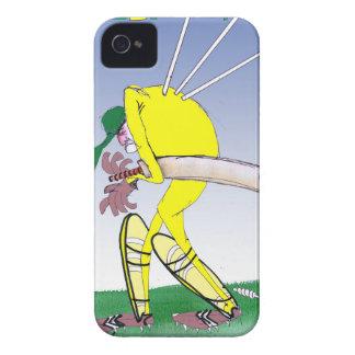 guarde la calma y mire sus fernandes traseros, carcasa para iPhone 4 de Case-Mate