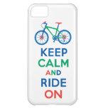 Guarde la calma y monte en el iPhone multi 5
