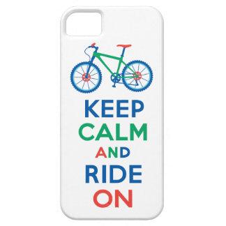 Guarde la calma y monte en el iPhone multi 5 iPhone 5 Carcasas
