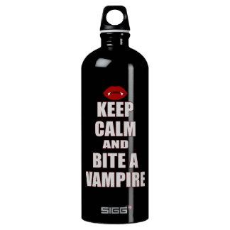 Guarde la calma y muerda a un vampiro