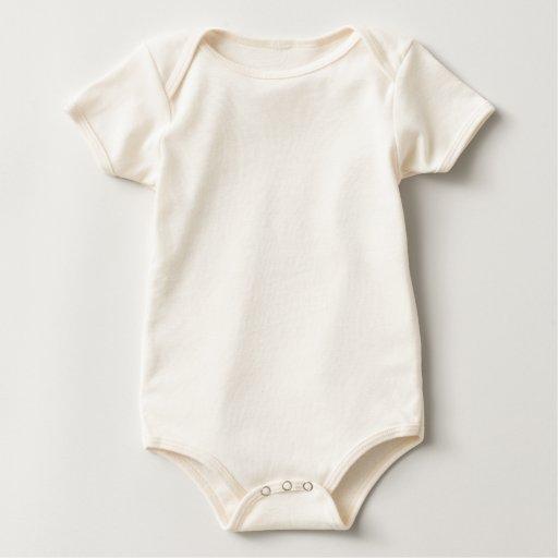 Guarde la calma y muestre su trabajo (cualquier co traje de bebé