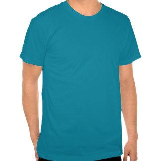 Guarde la calma y nade en la camiseta divertida