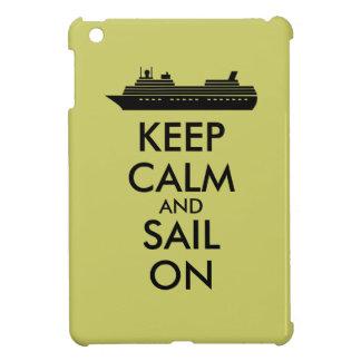 Guarde la calma y navegue en personalizado del