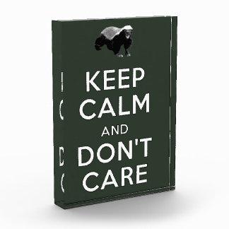 Guarde la calma y no cuide