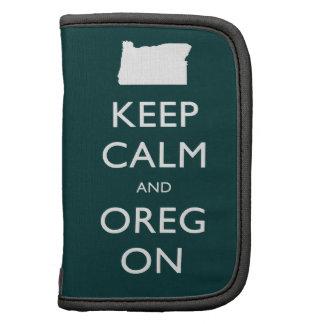 Guarde la calma y Oregon Planificador