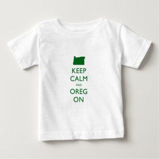 Guarde la calma y Oregon T-shirts