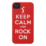 Guarde la calma y oscile encendido iPhone 4 cobertura