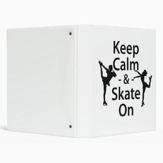 Guarde la calma y patine encendido