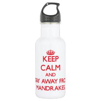 Guarde la calma y permanezca lejos de Mandrakes
