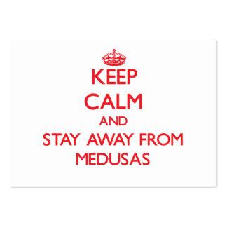 Guarde la calma y permanezca lejos de medusas
