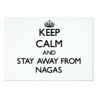 Guarde la calma y permanezca lejos de Nagas Anuncio